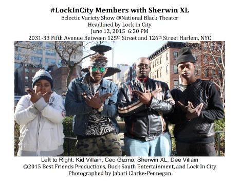 Eclectic Variety Show Headlined by Lock In City with Sherwin XL MC